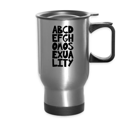 ABCDEFGHOMOSEXUALITY - Travel Mug