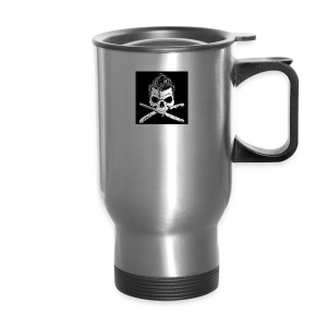 Greaser skull - Travel Mug