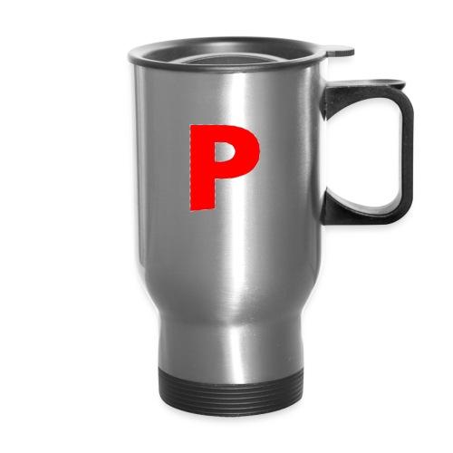 letter p - Travel Mug