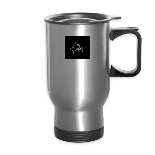 Hey Sügar. By Alüong Mangar - Travel Mug with Handle