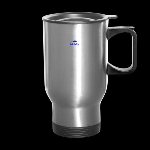 Blue 94th mile - Travel Mug