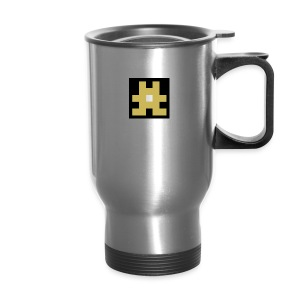 YELLOW hashtag - Travel Mug