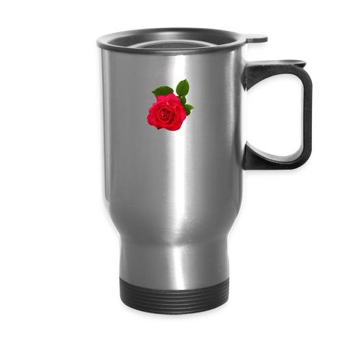 Flower power - Travel Mug with Handle