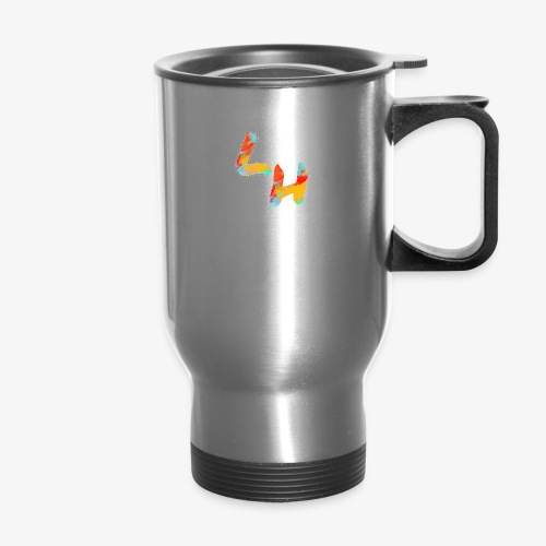Los Hermanos Logo - Travel Mug