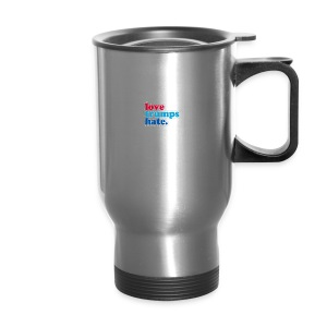 Love Trumps Hate - Travel Mug