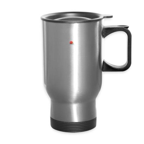 logo for lucas - Travel Mug