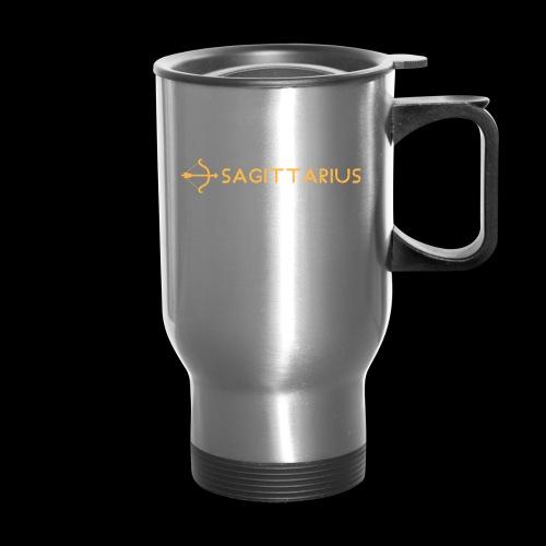Sagittarius - Travel Mug with Handle