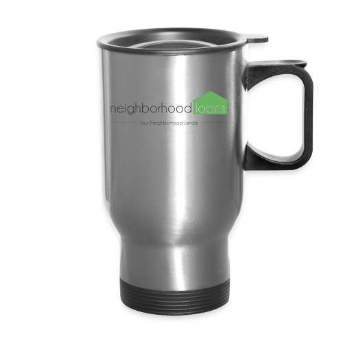 Neighborhood Loans White Items - Travel Mug