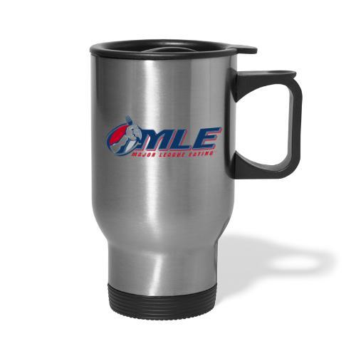 Major League Eating Logo - Travel Mug with Handle