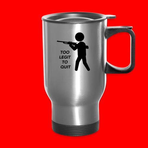 OxyGang: Too Legit To Quit Products - Travel Mug with Handle