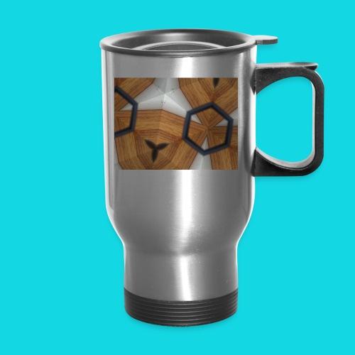 Kaleidoscope - Travel Mug with Handle