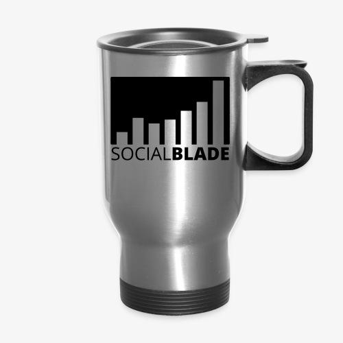 SB Blackout Logo - Travel Mug with Handle
