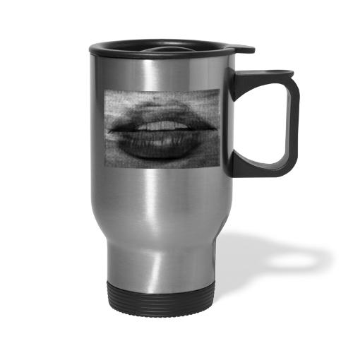 Blurry Lips - Travel Mug