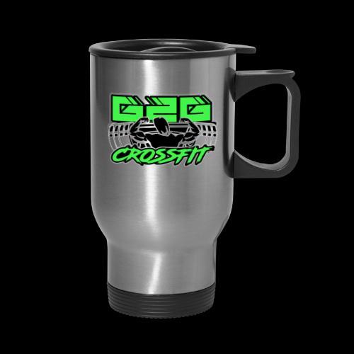 Electrifying Green Full G2G Logo - Travel Mug