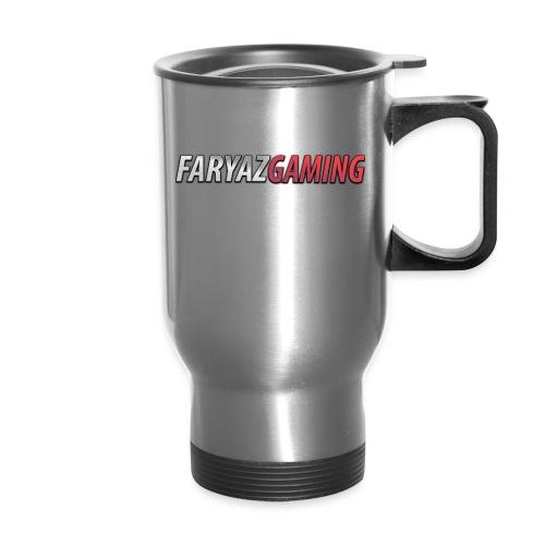 FaryazGaming Text - Travel Mug