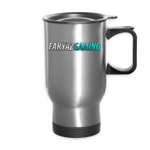 FaryazGaming Theme Text - Travel Mug