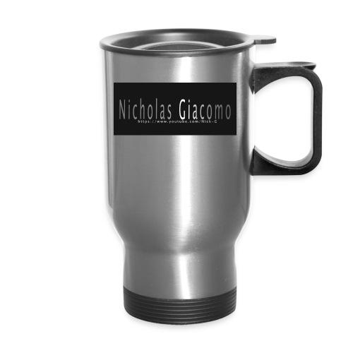 Nick_logo_shirt - Travel Mug