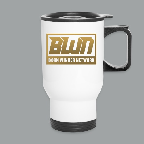 BWN (Gold) - Travel Mug
