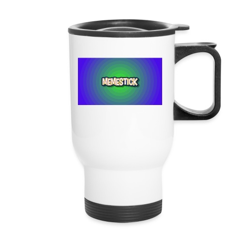 memestick symbol - Travel Mug