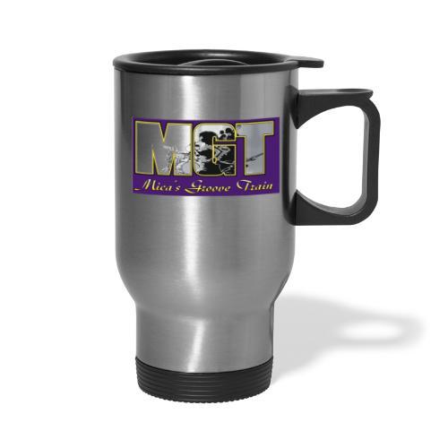 Mica's Groove Train Logo - Travel Mug
