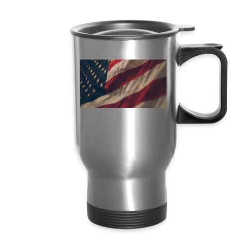 United States Flag - Travel Mug
