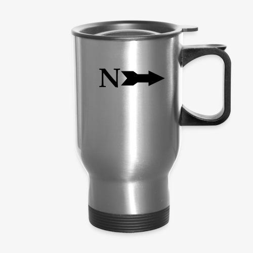 Narrow Logo Black - Travel Mug