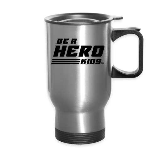 BHK secondary black TM - Travel Mug