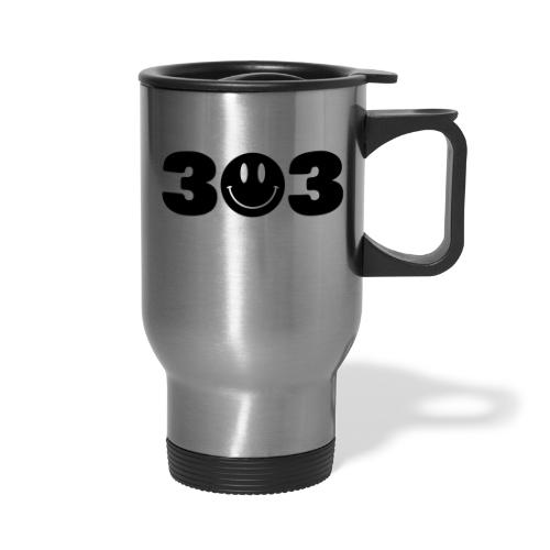 3 Smiley 3 - Travel Mug
