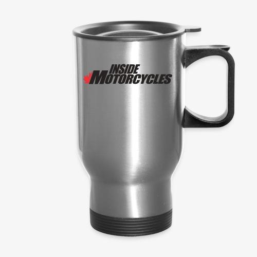 Inside Motorcycles Logo - Black - Travel Mug
