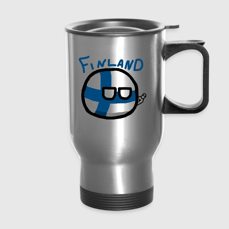 Finlandball - Travel Mug
