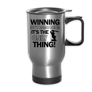 cricket wining tee - Travel Mug