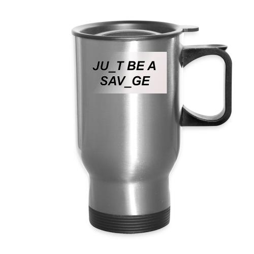 JU_T B A SVG - Travel Mug