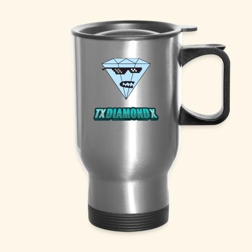 Txdiamondx Diamond Guy Logo - Travel Mug
