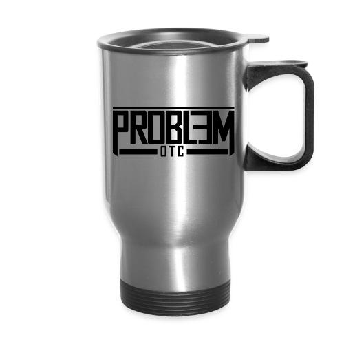 Logo Problem OTC png - Travel Mug with Handle