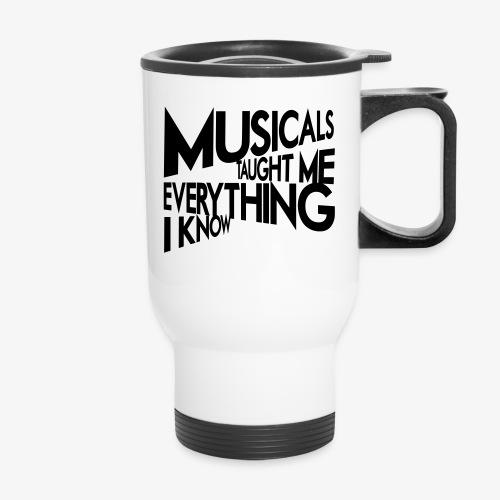MTMEIK Black Logo - Travel Mug