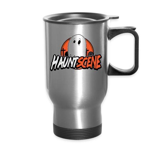 HauntScene Modern Logo 2020 - Travel Mug