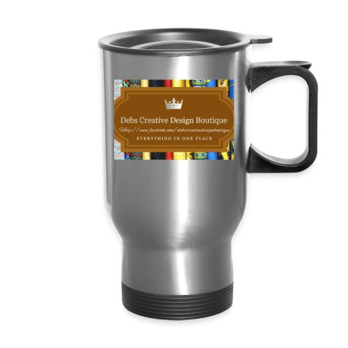 Debs Creative Design Boutique with site - Travel Mug