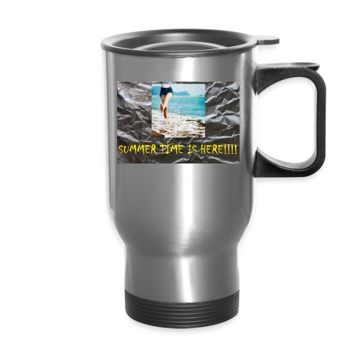 Summer Time Water-Bottle (Get Silver as the Color) - Travel Mug