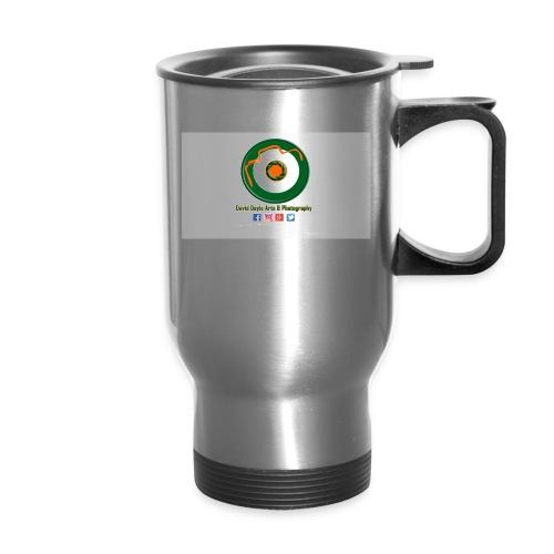 David Doyle Arts & Photography Logo - Travel Mug