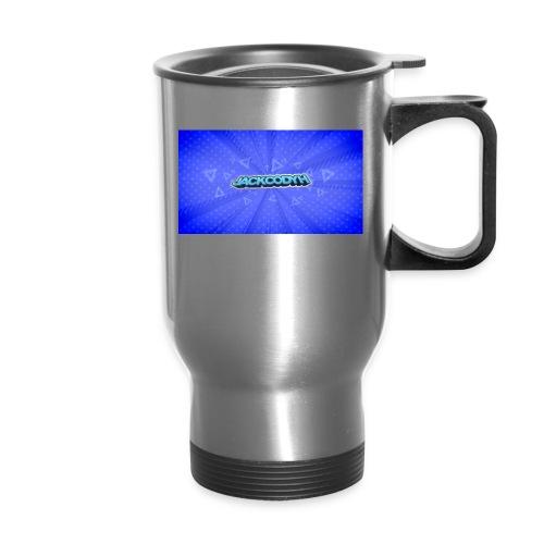 JackCodyH logo - Travel Mug with Handle