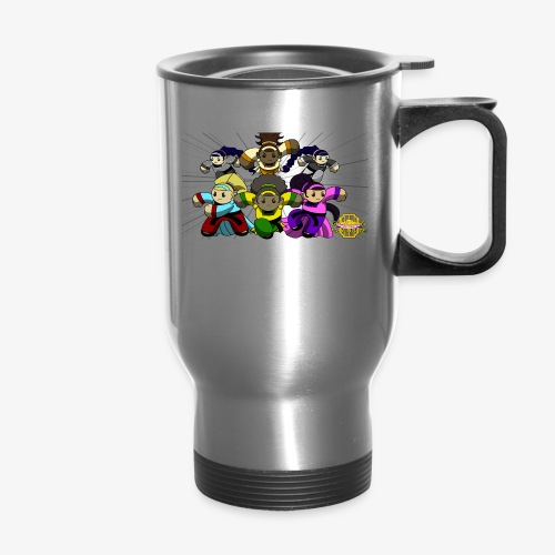The Guardians of the Cloudgate w/ Logo - Travel Mug