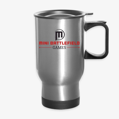 Mini Battlefield Games Logo - Travel Mug