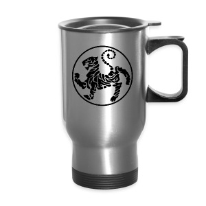 Shotokan-Tiger_black - Travel Mug