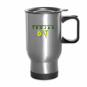 New Trojan Bat Logo - Travel Mug
