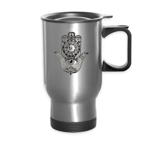 Ezina Hamsa Design - Travel Mug