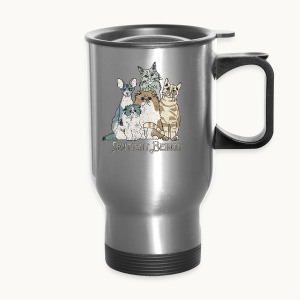 CATS - SENTIENT BEINGS - Carolyn Sandstrom - Travel Mug