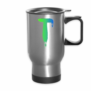 Colored Tlicker Logo - Travel Mug