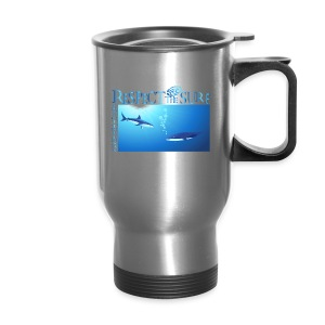 Respect The Shark - Travel Mug
