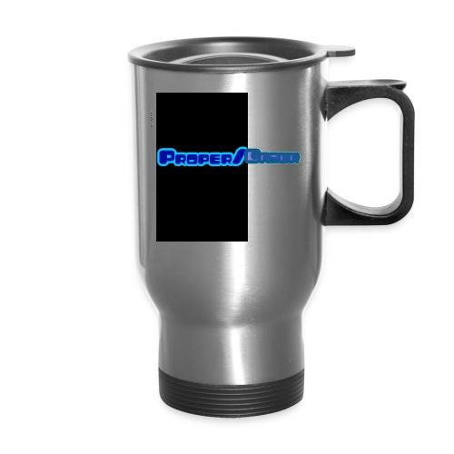Proper gamer mech - Travel Mug