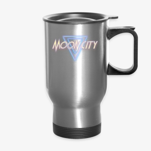 Moon City Logo - Travel Mug